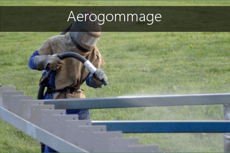 Aerogommage