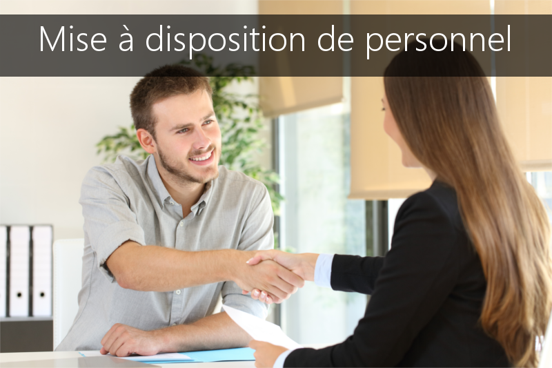 Mise à disposition de personnel