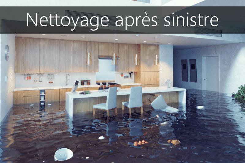 Nettoyage apres sinistre