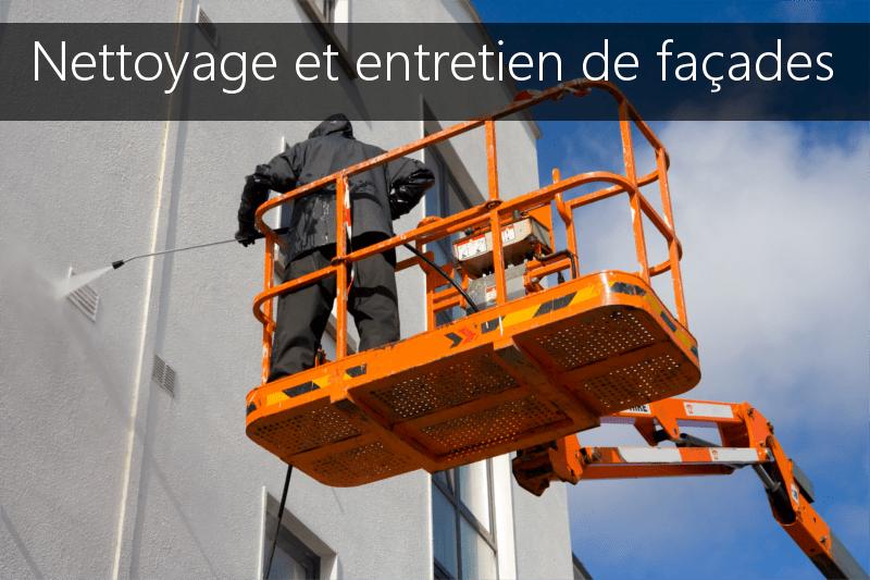 Nettoyage et entretien de facades